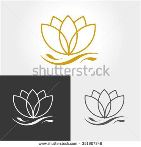 lotus flower logos 1000 ideas about flower logo on logos logo
