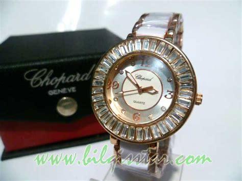 Jam Tangan Chopard 314 3 chopard glass tali fiber stainless cewek bilqisstar
