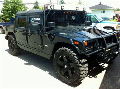 hummer h1 for sale canada find used 2004 hummer h1 open top in laval canada