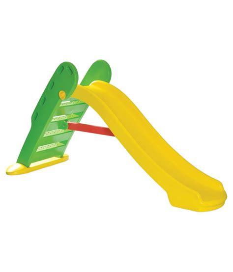 plastic swing and slide playgro yellow plastic slide and swing buy playgro