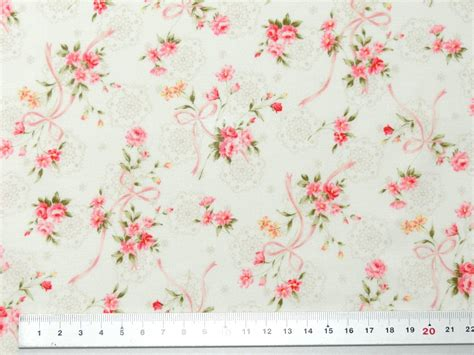 Quilt Gate Fabric by Quilt Gate Antique For You Pink Creme Fabric Cotton Fabric