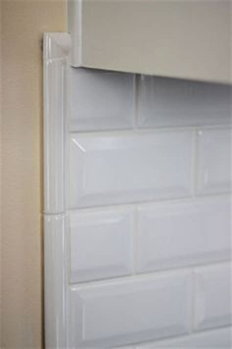 how to finish the side of a subway tile shower google