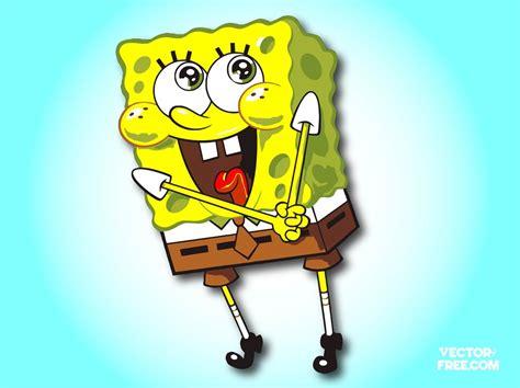 sponge bob cartoon vector art graphics freevectorcom