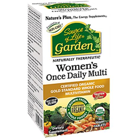 Garden Of Daily Vitamin Source Of Garden Womens Once Daily Multi 30 Vegan