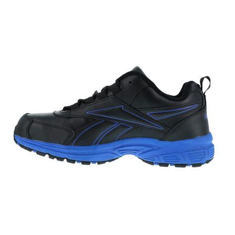 reebok work shoes reebok rb4830 ateron mens black blue steel toe eh