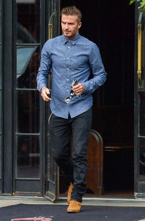 シャツと合わせて ベッカムが選んだ男が履くべきジーンズ スナップ写真 naver まとめ