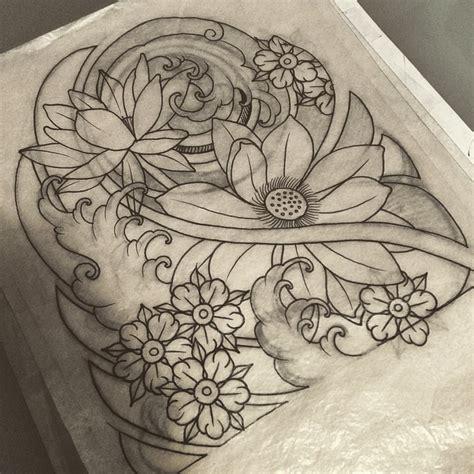 tattoo japanese sketch cherryblossom tattoo japanese drawing on instagram