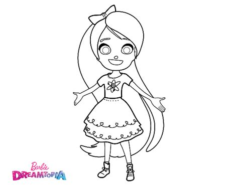 chelsea barbie coloring pages chelsea dreamtopia coloring page coloringcrew com