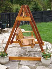 Patio Swing With Stand Build Diy How To Build A Frame Porch Swing Stand Pdf Plans