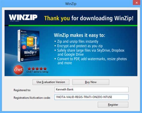winzip full version software winzip 18 activation code keygen plus crack full download