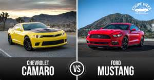 best pony car ford mustang vs chevrolet camaro