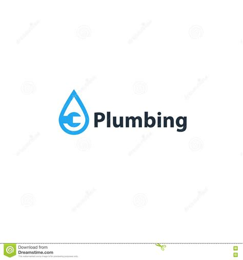 Plumbing Logos Free by Water Drop And Wrench Plumbing Icon And Logo Stock Vector