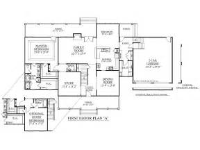 House Plans With 2 Master Bedrooms Downstairs Southern Heritage Home Designs House Plan 3135 A The