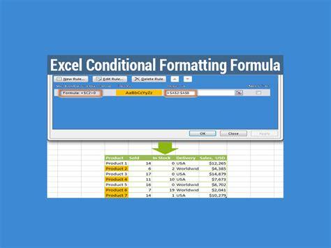 excel format using formula excel conditional formatting formula