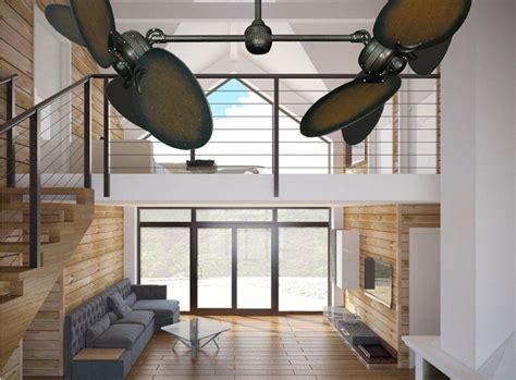 living room ceiling fans double ceiling fans industrial living room living room fans
