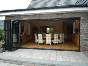 bi folding patio doors aj ralston glasgow edinburgh scotland