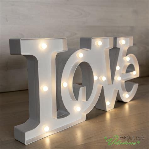 love letras decoracion letras love luminosas