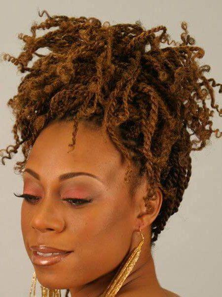 kinky twist hairstyles updo kinky twists hairstyles for black women in 2018 haircuts