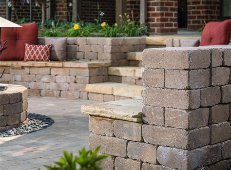 seat wall seat wall design ideas outdoor living by belgard