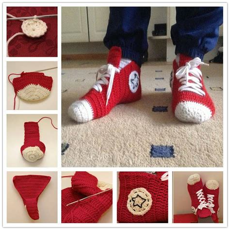 crochet converse slippers pattern free converse slippers the whoot