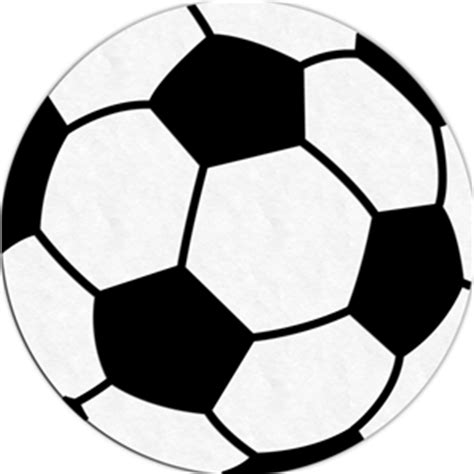 Balls Outline by Soccer Outline Clipart Best