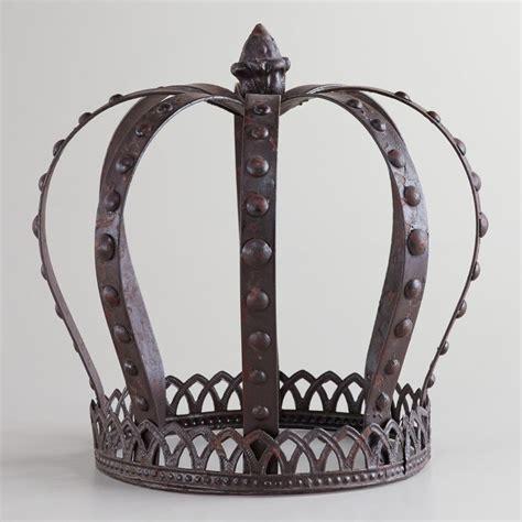 crown craft retreat steel casserole large metal king crown metals world market and sprays
