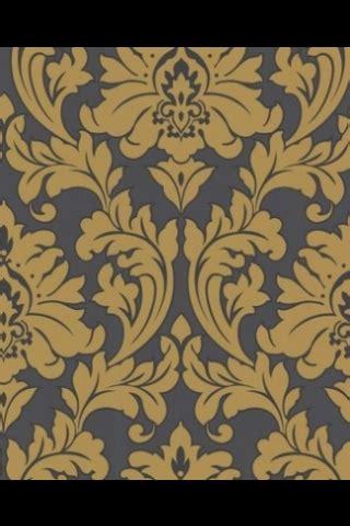 wallpaper grey mustard mustard grey damask wallpaper sun room pinterest