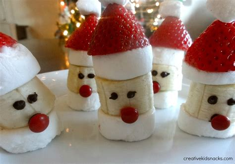 cute christmas desserts santa party poppers