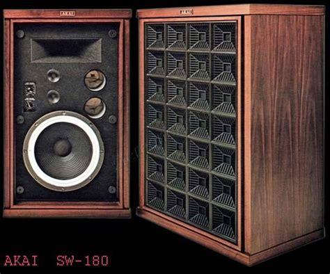 Speaker K One Sw 280 Mono Stereo System T1910 stereonomono akai sw 180