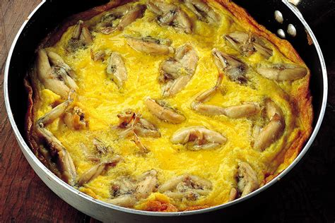 cucinare le rane ricetta frittata di rane la cucina italiana