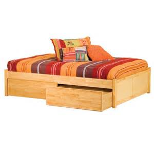 Platform Bed Drawers Storage Platform Bed Vanilla