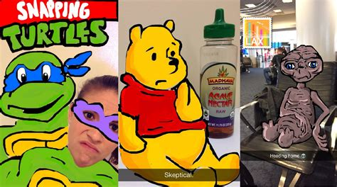 how to doodle in snapchat is snapchat the smartphone stylus cool la times