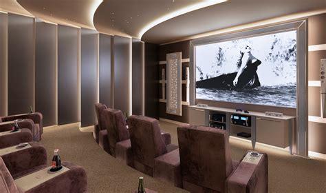 sala home cinema sale cinema di lusso di vismara design