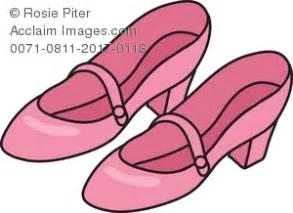 Sepatu Balet Lipat royalty free clipart illustration of pink shoes
