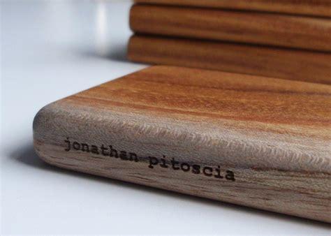 Handmade Business - handmade wooden business card holder gadgetsin