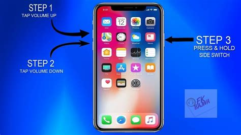 how to restart turn reboot iphone x frozen screen fix
