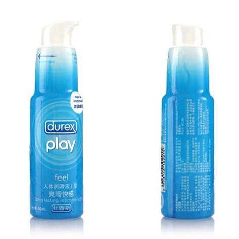 Durex Play Silky Lubricant 50 Ml durex play feel lube 50 ml bot lubricants lubes xw
