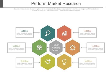 themes in education action research perform market research ppt slides