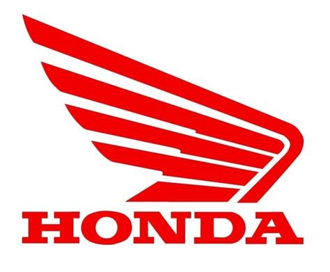 vintage honda logo honda wing logo emblem motorcycle vinyl decal sticker 5 5