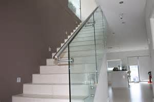 Balustrades For Stairs by Glass Balustrading Sydney Glass Balustrades Glass Stair