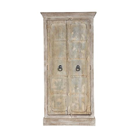 Light Wood Armoire Palazzo 76 Quot Rustic Light Brown Solid Wood Armoire