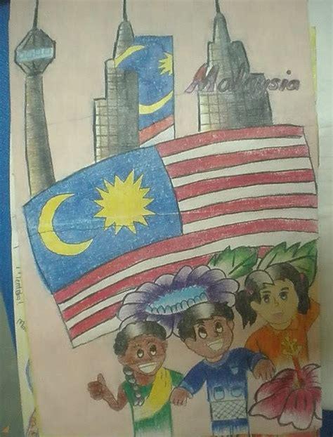 membuat poster kemerdekaan panitia psv dsv sk parit kasan poster hari kemerdekaan 53