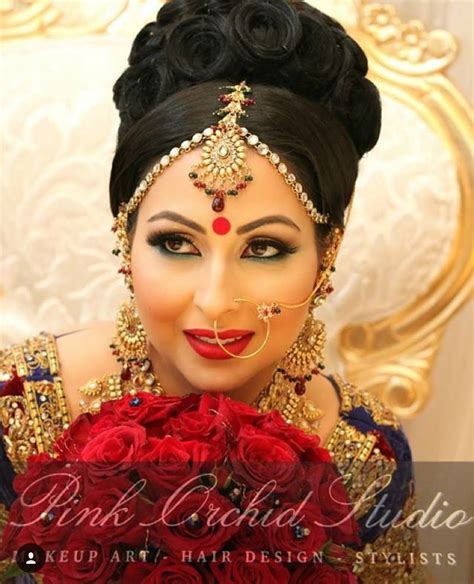hairstyle design pakistani pakistani wedding hairstyles best bridal makeup ideas on