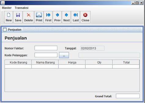 java gui themes merubah theme java swing dengan nimbus look and feel