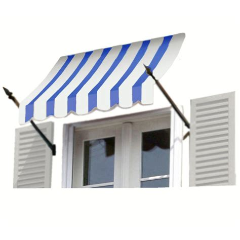 awntech awnings awntech 8 ft new orleans awning 44 in h x 24 in d in