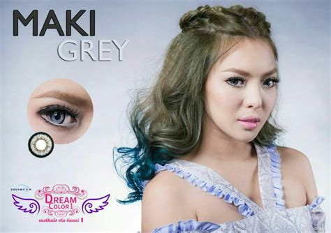 Softlens Grey By Pretty Doll softlens dreamcolor maki gray softlens co id jual softlens murah di indonesia