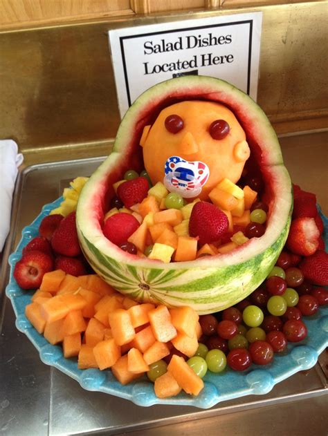 Watermelon Fruit Bowl Baby Shower by Baby Shower Fruit Bowl Baby Shower Ideas