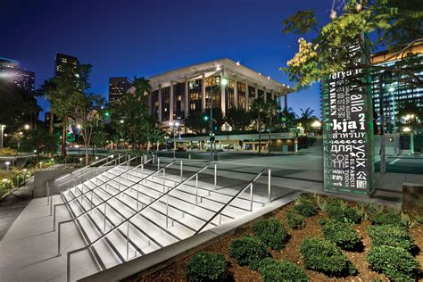 Grand Park In Downtown Los Angeles Architect Magazine Landscape Lighting Los Angeles