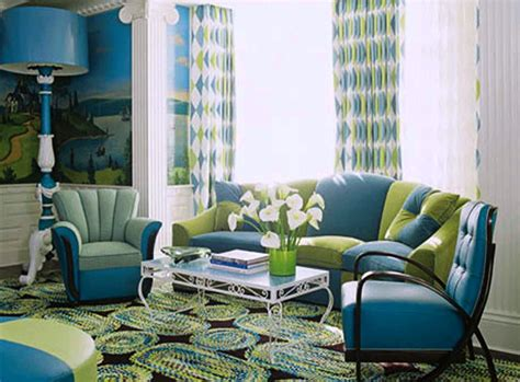 turquoise and green living room home decor brilliant turquoise interior designs