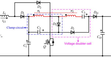 capacitor leakage inductance year power electronics projects a high voltage gain dc dc converter integrating coupled